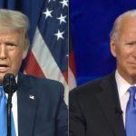 Em tom ameno, Trump e Biden fazem ataques mútuos sobre honestidade. Foto: Reprodução