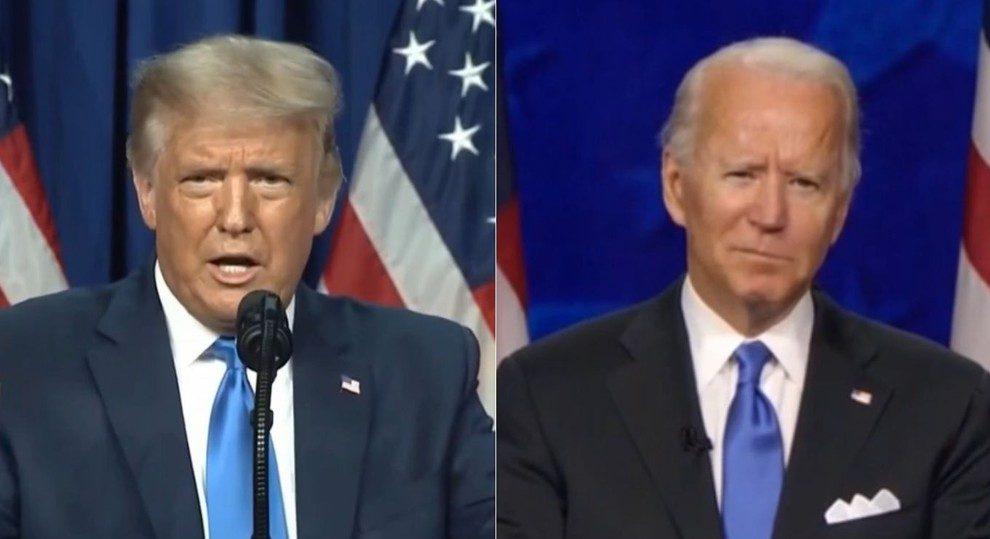 Trump x Biden antecipa o debate no Brasil em 2022. Foto: Reprodução