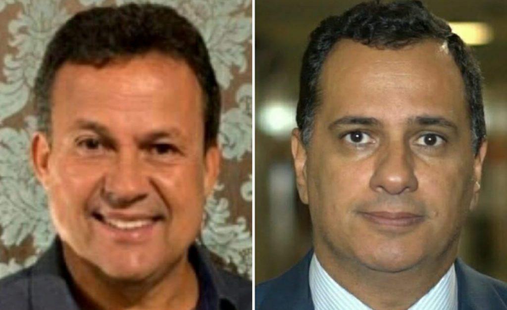 Neucimar Fraga e Max Filho lideram as intenções de voto em Vila Velha. Foto: Reprodução