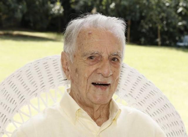 O ator Orlando Drummond, que completou 101 anos. Foto: Instagram/@orlandodrummond
