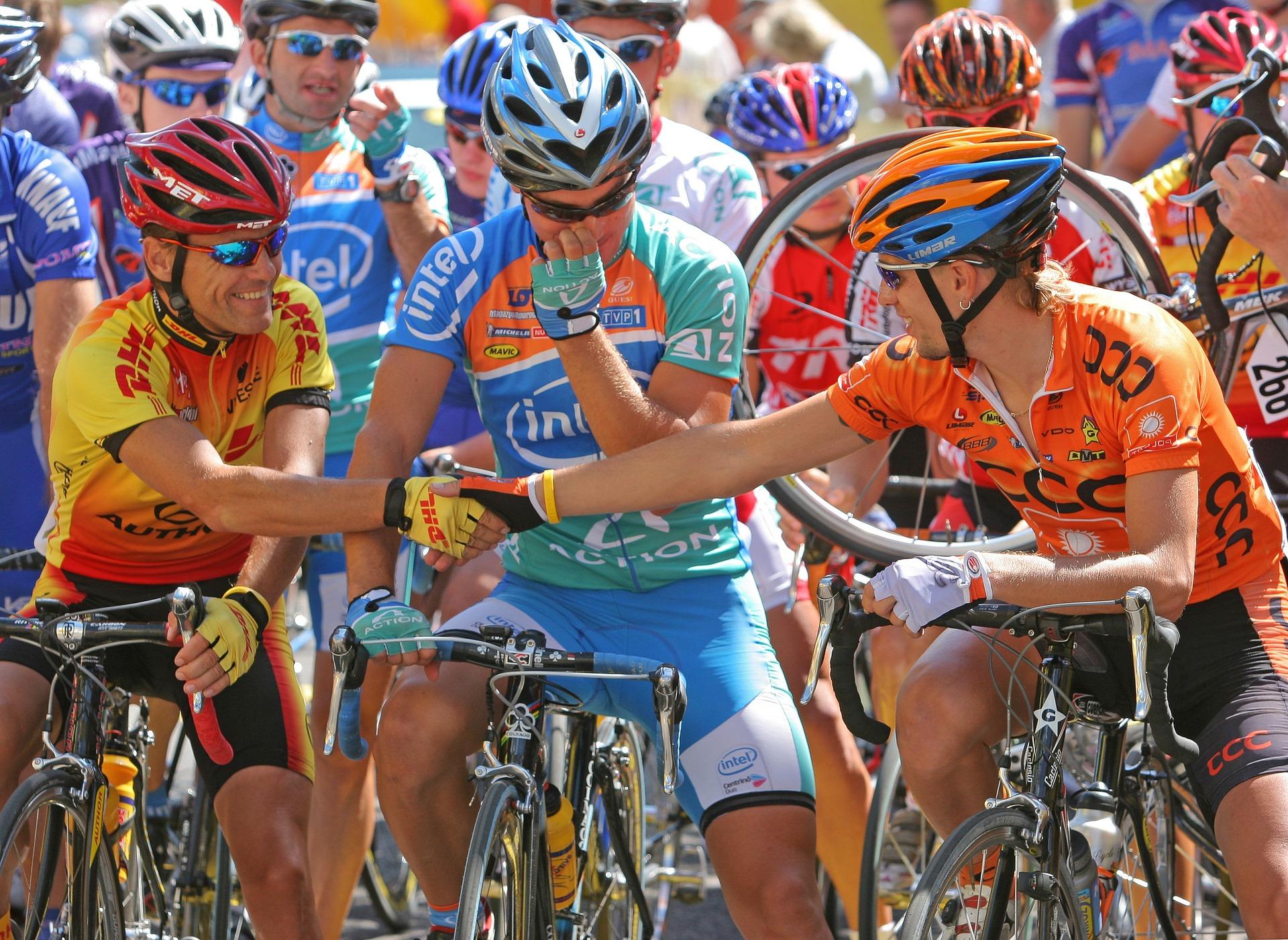 O ciclismo se tornou opção de esporte durante a pandemia. Setor cresceu em mais de 50%, estimam empresários e FESC. Foto: Pixabay