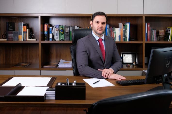 O presidente da Associação Nacional dos Peritos Criminais Federais, Marcos Camargo. Foto: Arquivo pessoal
