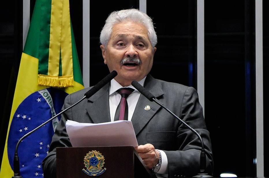 O senador Elmano Férrer, que emprega a mulher do desembargador Kassio Marques. Foto: Roque de Sá/Agência Senado