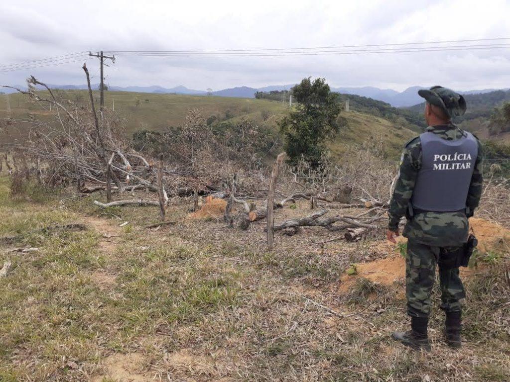 Operação Mata Atlântica em Pé aplica mais de R$ 254 mil em multas por infrações ambientais no Estado. Foto: Divulgação/MPES