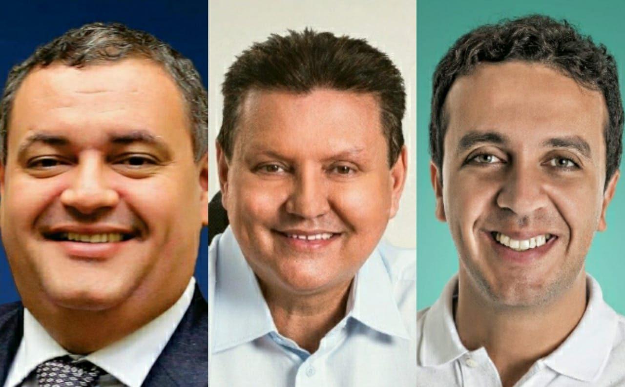 Sandro Locutor, Euclério Sampaio e Marcos Bruno lideram disputa em Cariacica. Foto: Reprodução