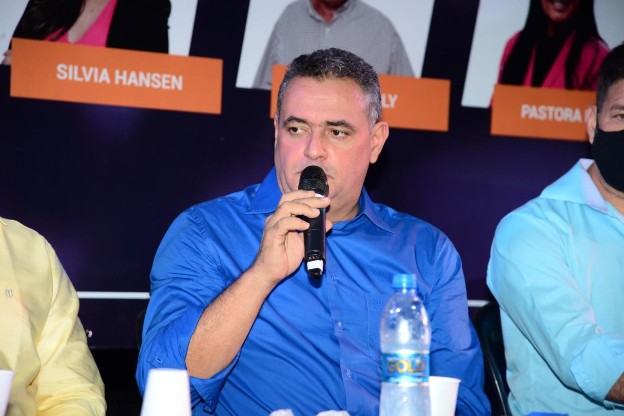 Sandro Locutor, candidato à prefeitura de Cariacica. Foto: Divulgação