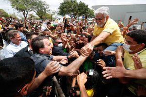 Bolsonaro em visita ao Maranhão