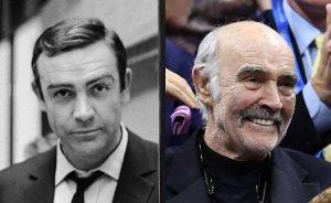 O ator escocês Sean Connery