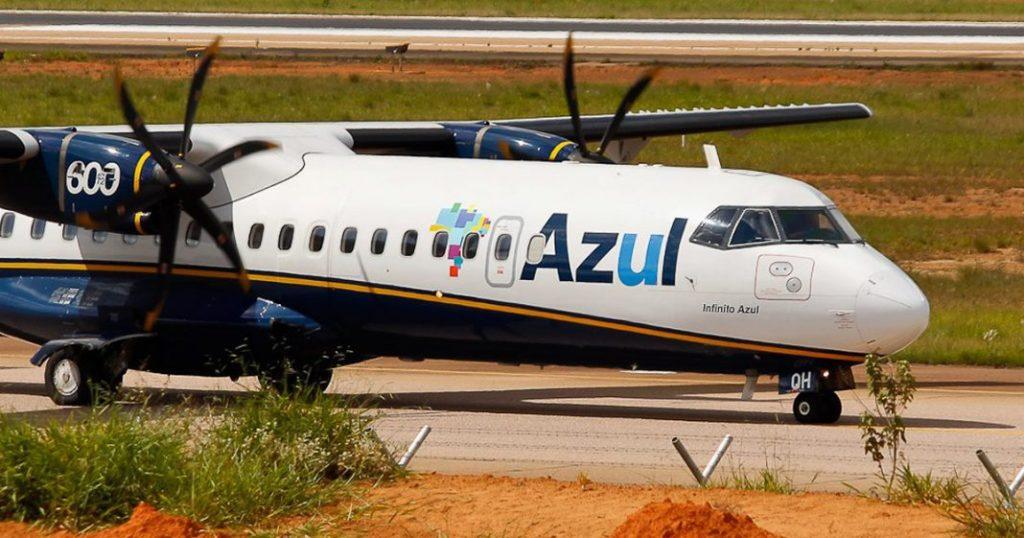 Avião da Azul. Foto: Divulgação