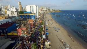 Carnaval de Salvador não será realizado em fevereiro em 2021. Foto: Valter Pontes|SECOM