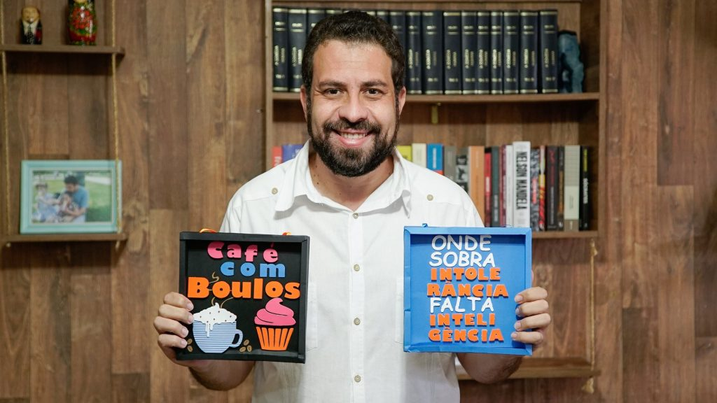 Guilherme Boulos. Foto: Reprodução/Facebook