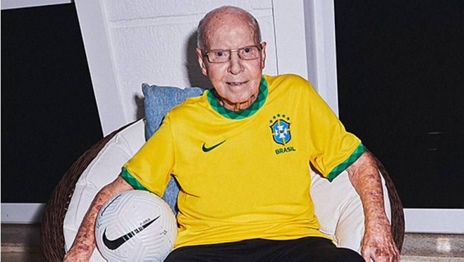 Mário Jorge Lobo Zagallo. Foto: Divulgação/CBF