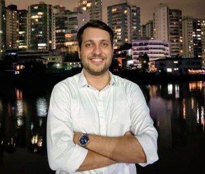 Marcel Damásio. Foto: Arquivo Pessoal