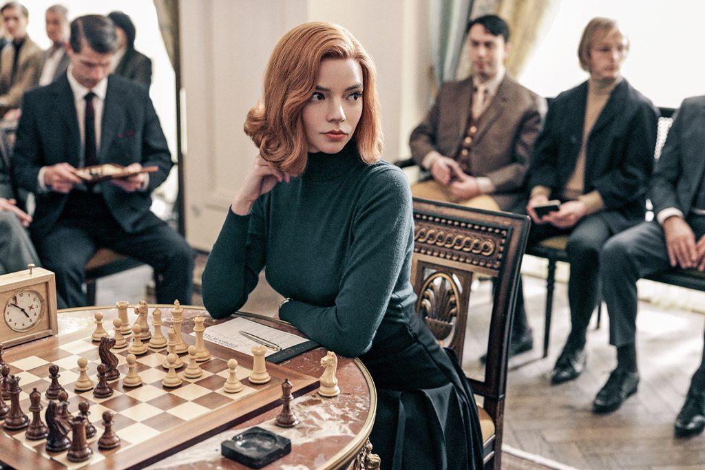 O Gambito da Rainha. Foto: Divulgação/Netflix