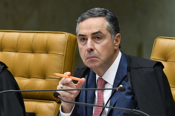 O ministro Luís Roberto Barroso, presidente do Tribunal Superior Eleitoral. Foto: Carlos Moura/SCO/STF