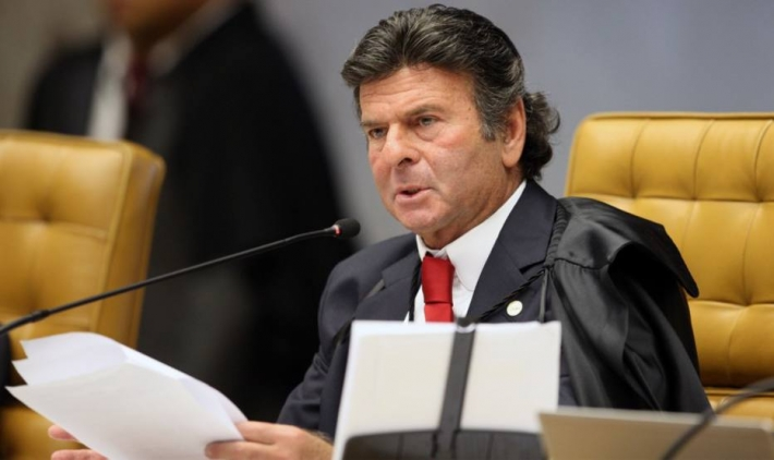 O ministro Luiz Fux, do Supremo Tribunal Federal. Foto: Nelson Jr/SCO-STF