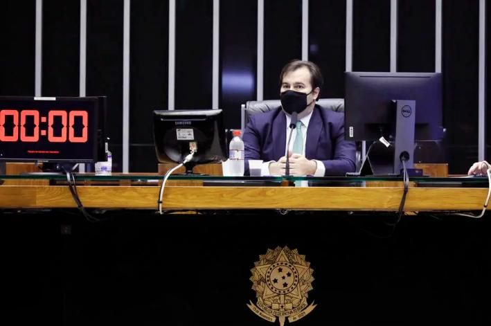 Rodrigo Maia deu encaminhamento a projeto de novo Refis; texto pode passar por comissões na Câmara. Foto: Luis Macedo/Agência Câmara