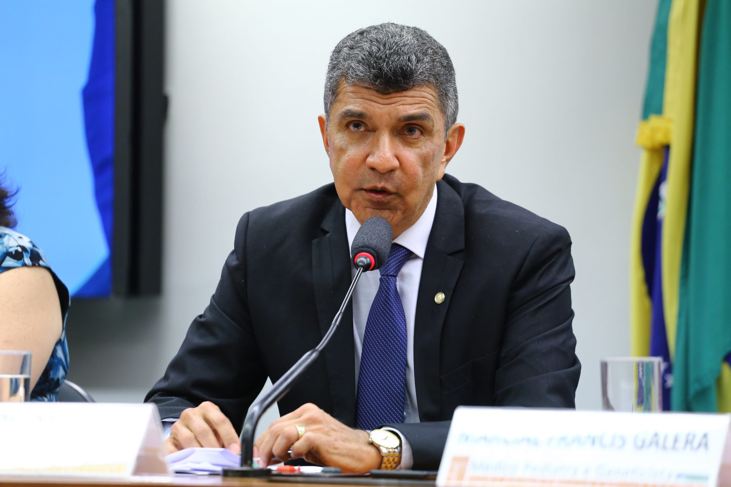 Sergio Vidigal (PDT) disputará o segundo turno na Serra contra Fábio Duarte (Rede). Foto: Vinícius Loures/Câmara dos Deputados