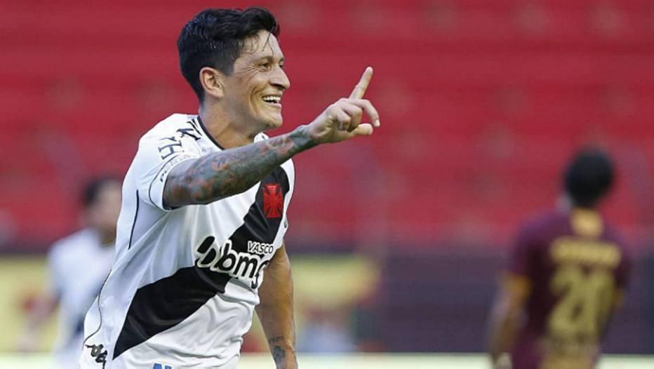 Vasco confia no retorno de Cano à boa fase. Foto: Rafael Ribeiro/Vasco