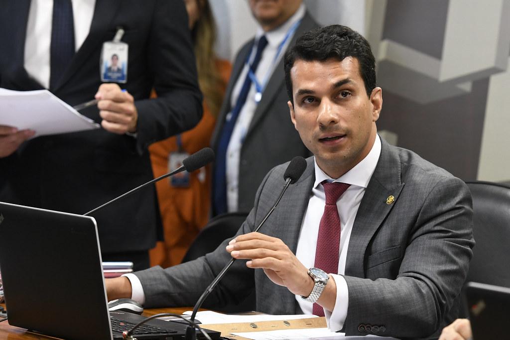 Senador Irajá Silvestre Filho (PSD-TO). Foto: Edilson Rodrigues/Agência Senado
