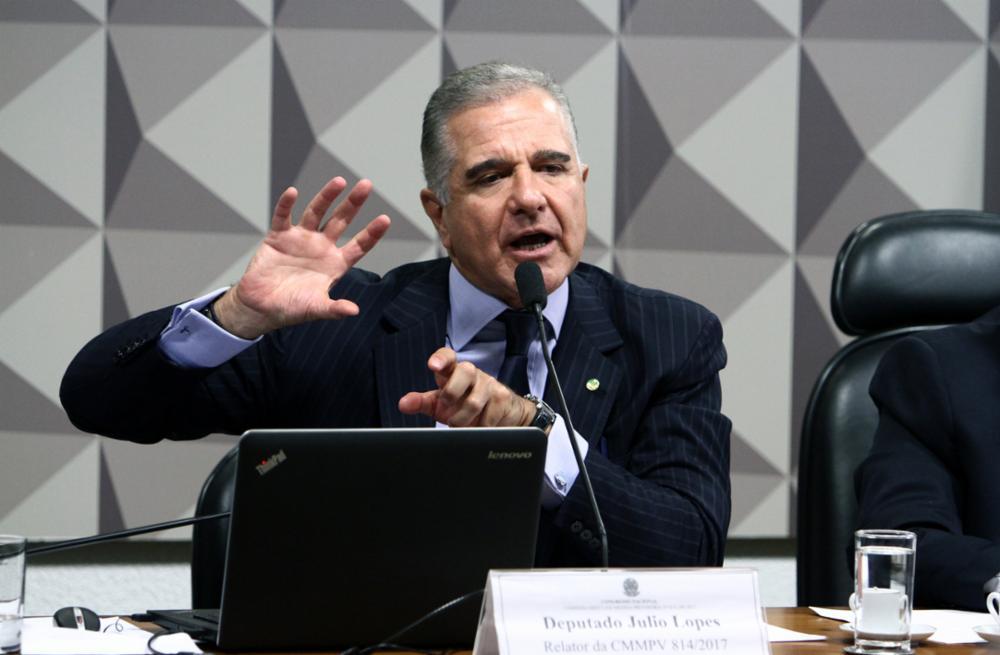 Júlio Lopes ex-deputado federal e ex-secretário de Transportes na gestão de Sérgio Cabral. Foto: Vinícius Loures/Câmara dos Deputados