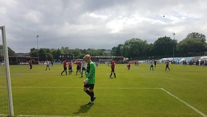 No meio de 2019 foi disputada a última partida entre Hallam FC e Sheffield FC Foto: Hallam FC/Divulgação