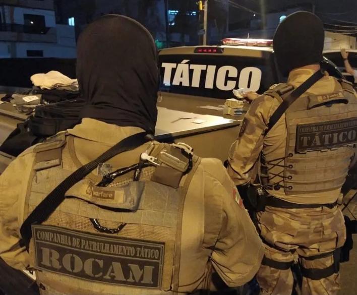 Polícia prende 12º suspeito de participar de mega-assalto em Criciúma. Foto: Polícia Militar/Reprodução