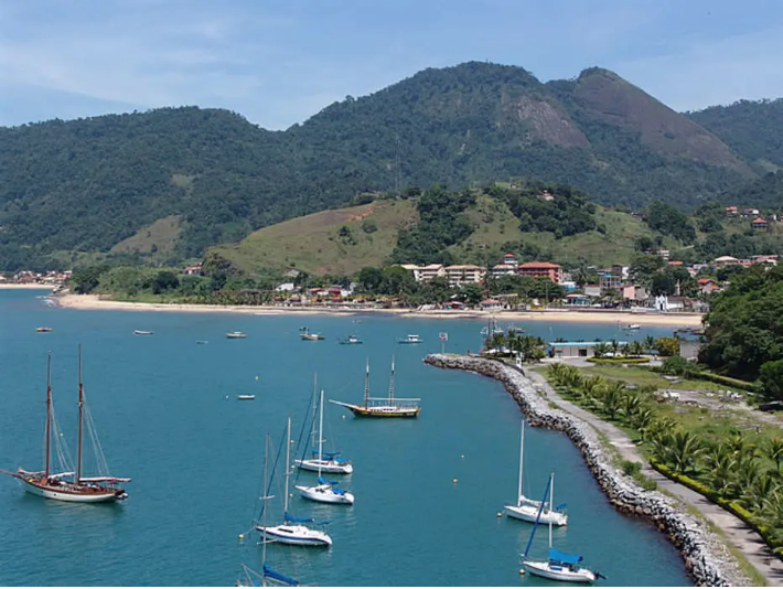 Vista de praia em Mangaratiba (RJ). Foto: Prefeitura de Mangaratiba