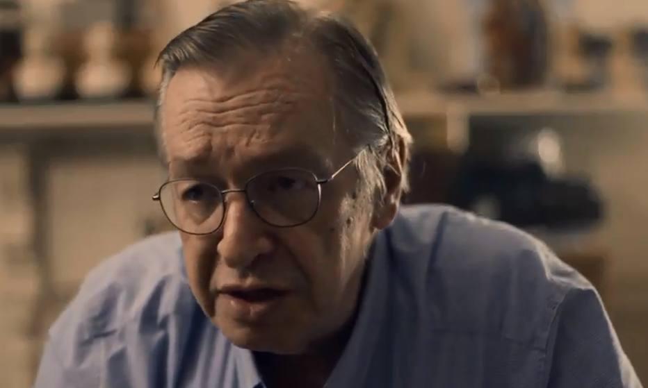 O escritor Olavo de Carvalho. (Reprodução: TV Escola)