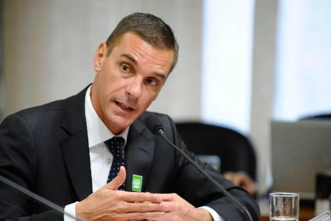 André Guilherme Brandão, atual presidente do Banco do Brasil. (Foto:Edilson Rodrigues/Agência Senado)