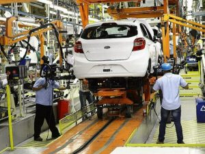 Fábrica da Ford. (Foto: Divulgação)