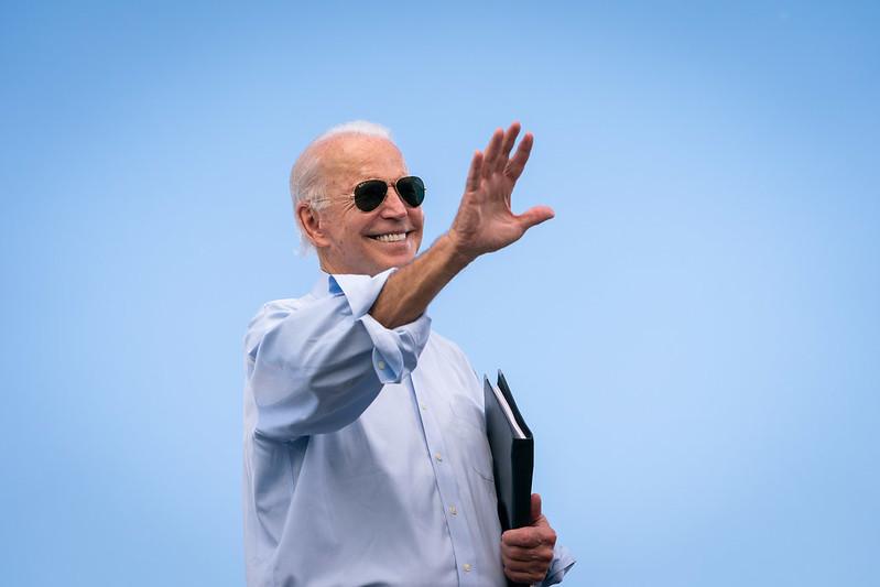 Presidente americano Joe Biden. (Reprodução: Biden For President / Flickr)