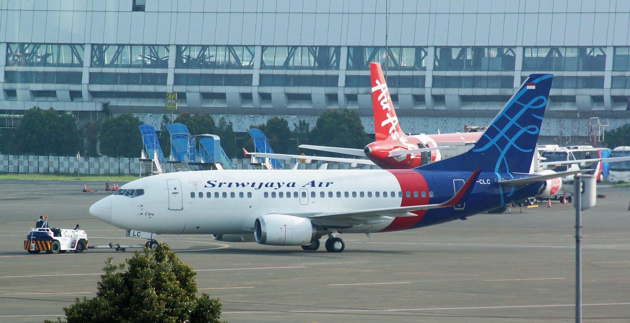 Boeing 737-524, da linha aérea Sriwajaya. Foto: Reprodução/Flicker