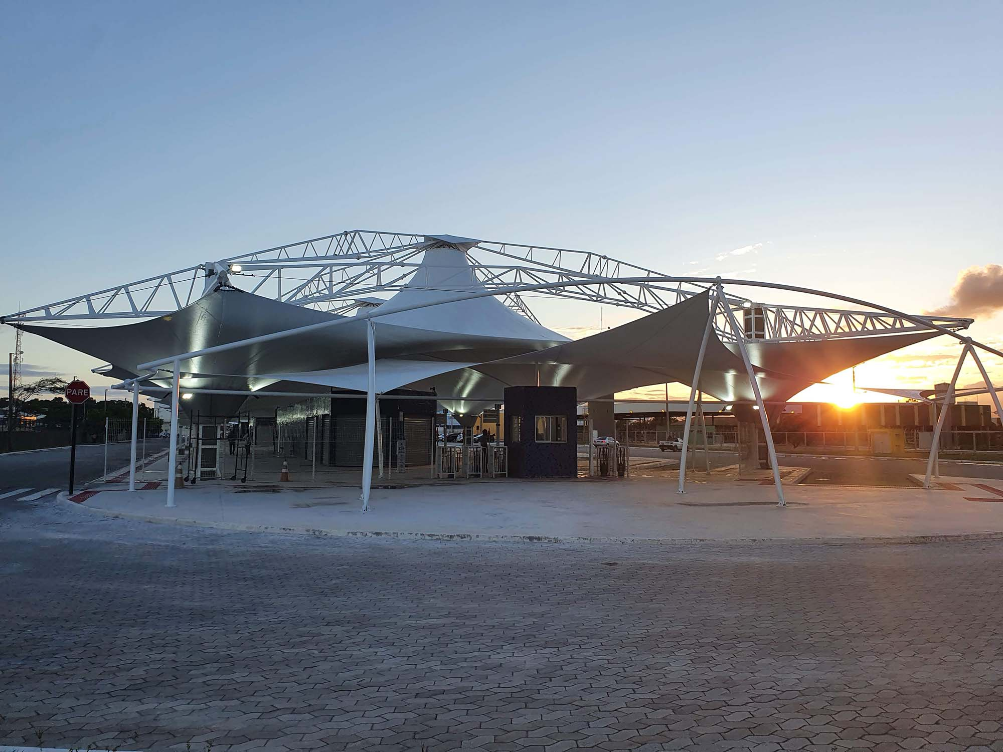 Novo Terminal de Itaparica, em Vila Velha. Foto: Hélio Filho/Secom