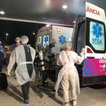Entre os dias 21 e 22 de janeiro, 36 pacientes do Amazonas desembarcaram no Espírito Santo para serem tratados contra a covid-19. Foto: Comunicação/Sesa