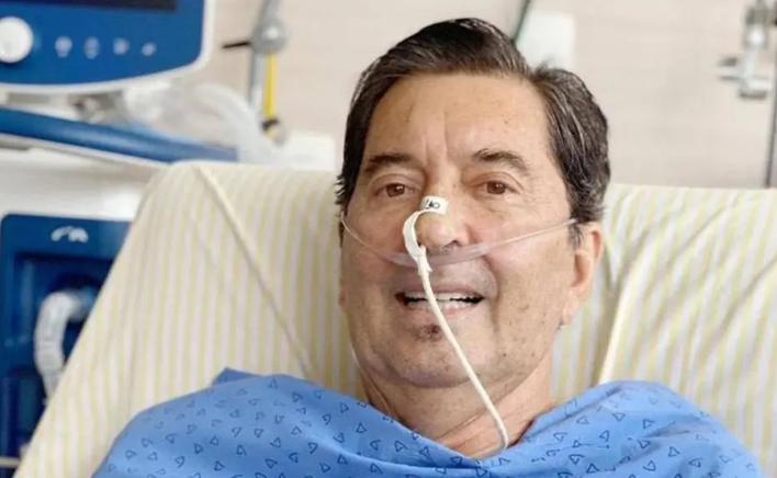 Maguito Vilela (MDB) estava internado desde outubro e enfrentava uma infecção pulmonar diagnosticada na semana passada. Foto: Reprodução/Redes sociais