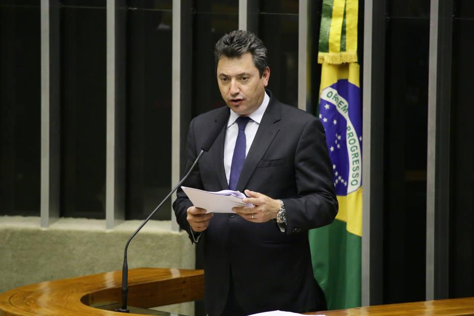 O deputado Sergio Souza (MDB-PR), que assumiu o comando da Frente Parlamentar Agropecuária. (Foto: Michel de Jesus/Câmara dos Deputados)