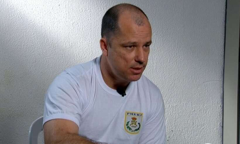 Major Edson Santos. (Foto: Reprodução/TV Globo)