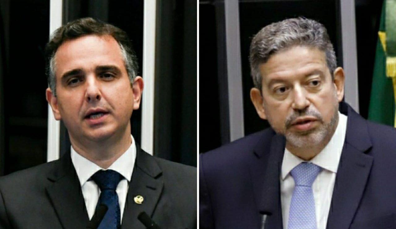 Arthur Lira e Rodrigo Pacheco. Fotos: Reprodução/Cleia Viana/Câmara dos Deputados e Jefferson Rudy/Agência Senado