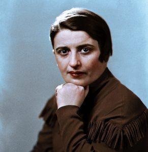 Ayn Rand. Foto: Wikimedia Commons