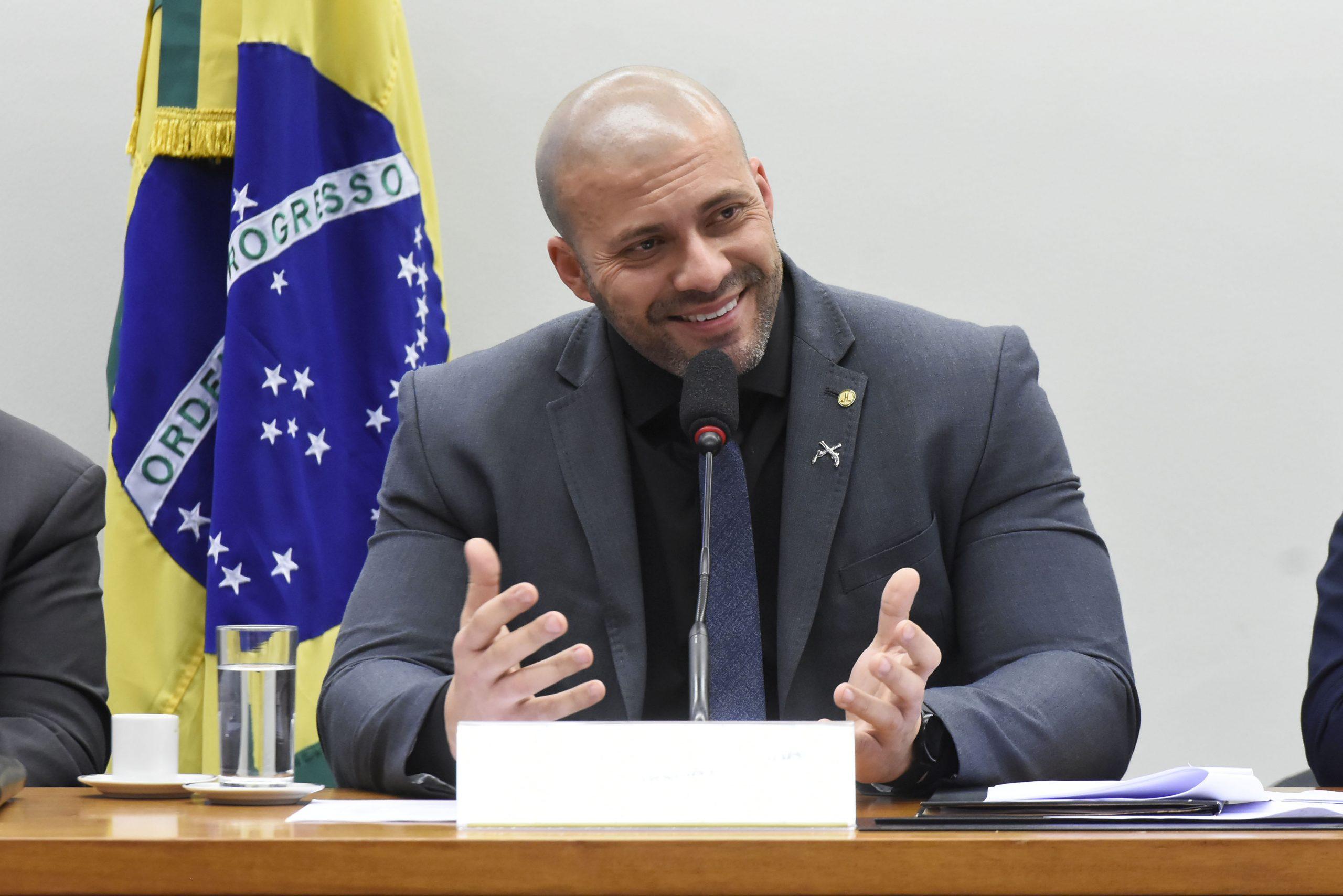 Deputado Daniel Silveira (PSL-RJ). Foto: Reila Maria/Câmara dos Deputados