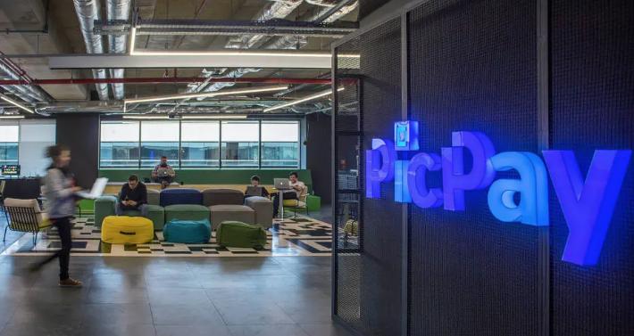 Escritório da PicPay em São Paulo: empresa quer chegar ao fim de 2021 com 3,5 mil empregados. Foto: Rodrigo Cassimiro/PicPay