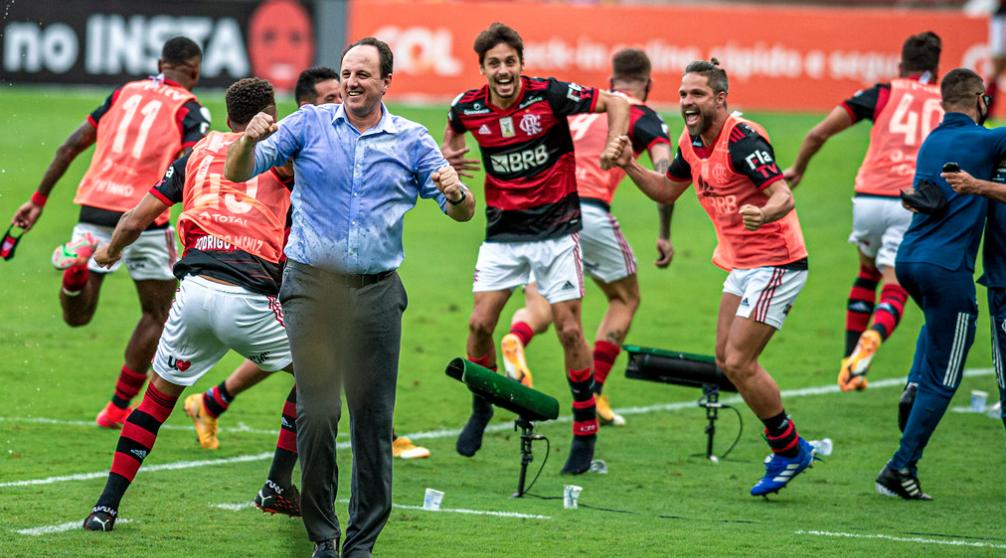 Flamengo vence o Internacional. Foto: Maarcelo Cortes / Flamengo