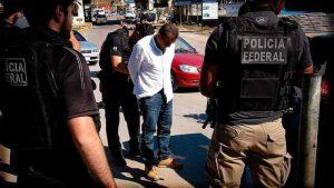 Jorge Luís da Silva, o Bolão, foi entregue pela polícia da Bolívia em agosto de 2018. Foto: Divulgação/Polícia Federal