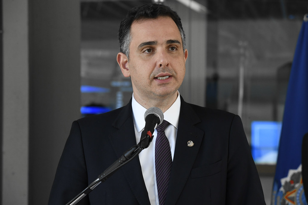 Presidente do Senado Federal, senador Rodrigo Pacheco (DEM-MG). Foto: Roque de Sá/Agência Senado