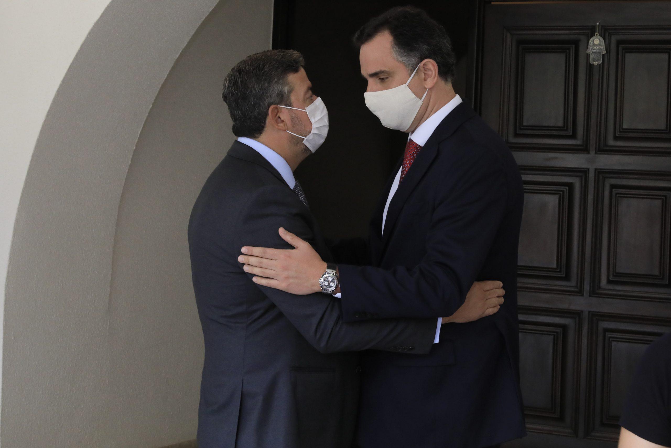 Presidente da Câmara, Arthur Lira, e o presidente do Senado, Rodrigo Pacheco. Foto: Luis Macedo/Câmara dos Deputados