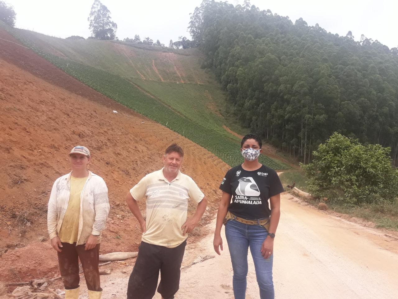 Foto: Programa de Conservação Saíra-Apunhalada