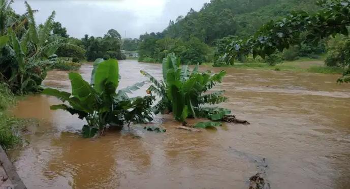Rio Norte, em Ibitirama, no Sul do Espírito Santo. Foto: Aqui Notícia