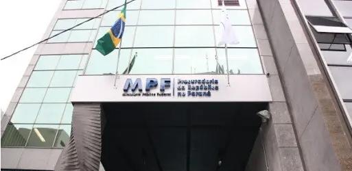Sede do Ministério Público Federal (MPF) no Paraná, onde fica a força-tarefa da Lava Jato Curitiba. Foto: MPF-PR/Divulgação