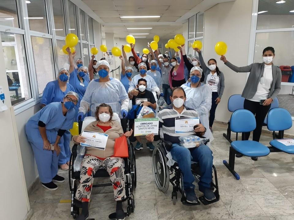 Três pacientes do Amazonas recebem alta nesta segunda-feira. Foto: Divulgação/Sesa